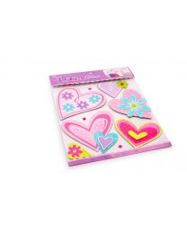 Pegatinas decorativas 'Corazones' (Small Foot-cod.2921)