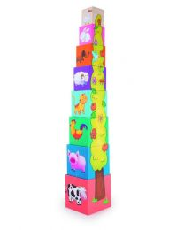Torre de cubos Animales (Small Foot-cod.4337)