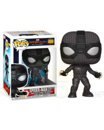 Figura Pop Marvel Spiderman Far From Home Spiderman Stealth Suit (889698392082)
